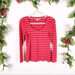 Boden | bright pink long sleeve top